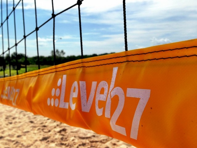 Image of Sand Volleyball Court for Level 27 Apartments