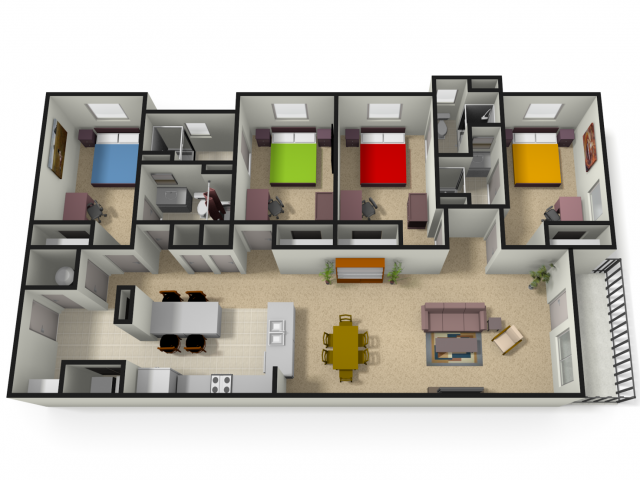 WVU Apartments For Students | The Lofts