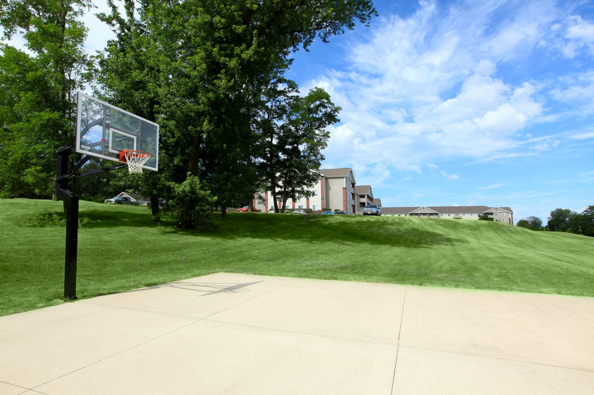 South Duff Apartments Basketball Court