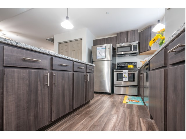 Elegant Kitchen | Apartments Near IU Bloomington | The Avenue