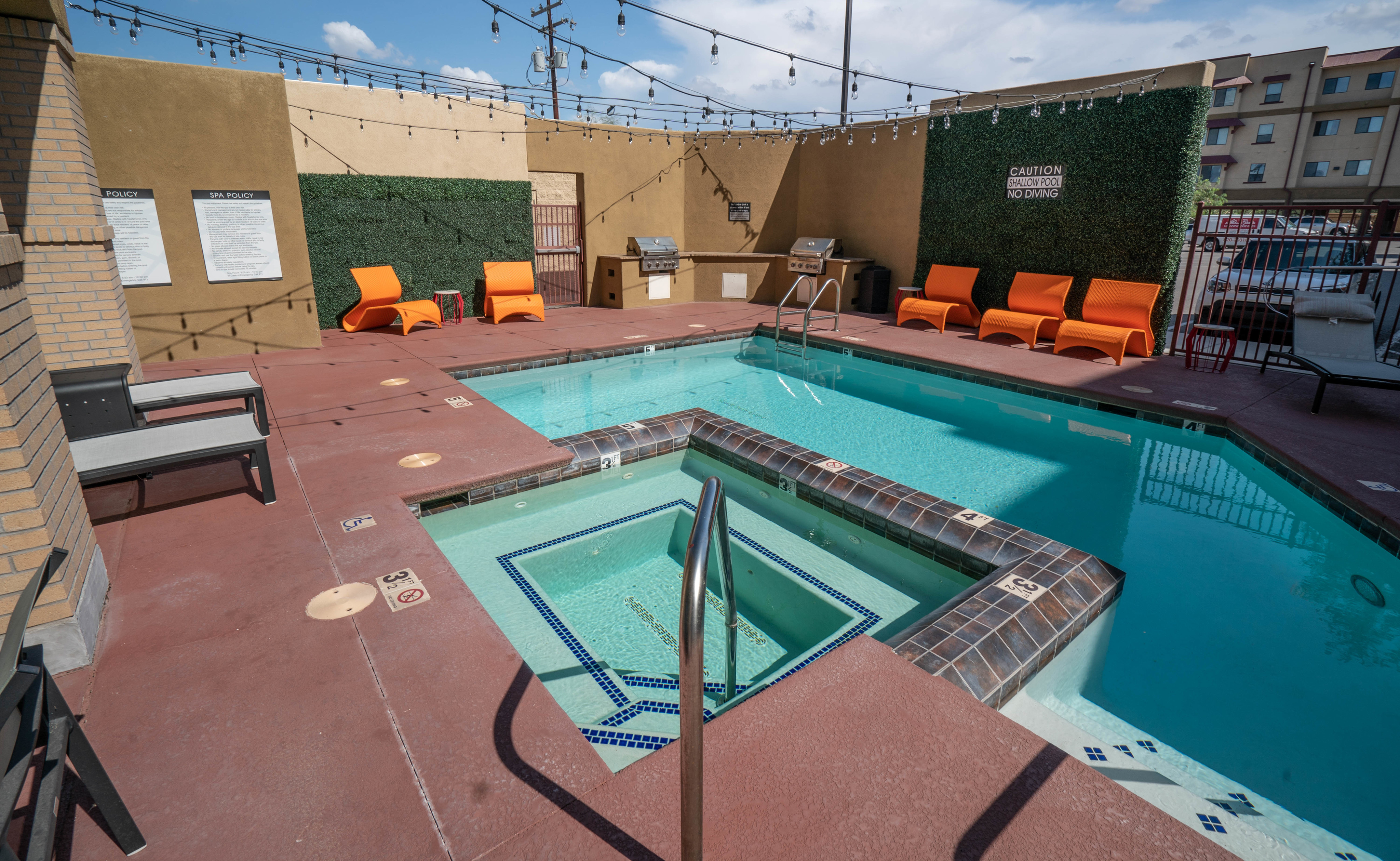 Junction at Iron Horse Apartments pool and sundeck