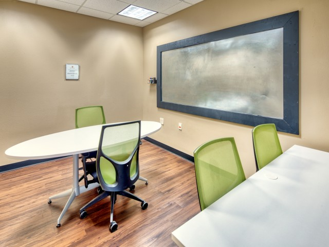 Conference Room & Study Lounge at South Duff Apartments in Ames, IA