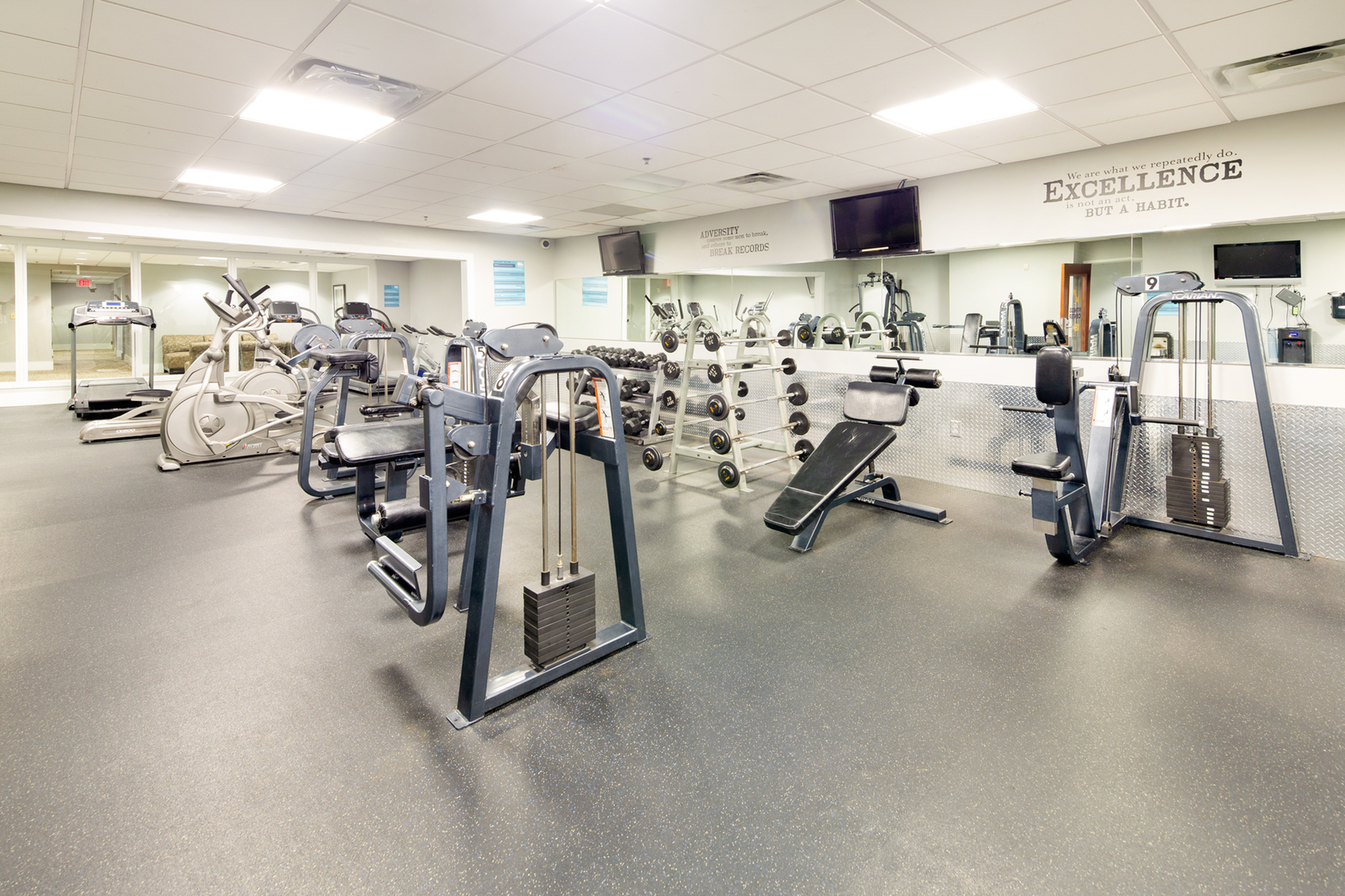 100 Midtown 24-hour fitness center | Apartments in Atlanta GA