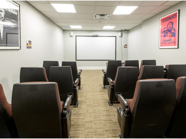 100 Midtown Theater Room | Apartments in Atlanta GA