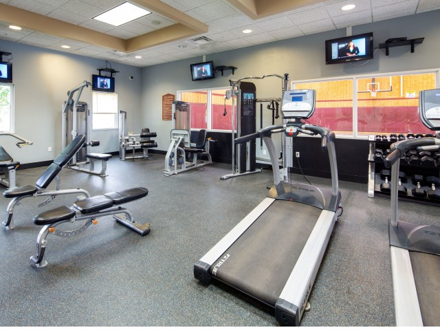 Fitness Center | Student Apartments in Mount Pleasant, MI