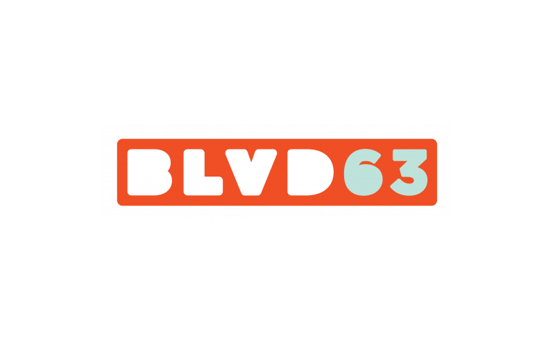 BLVD63 Logo | San Diego State University Apartments | BLVD63