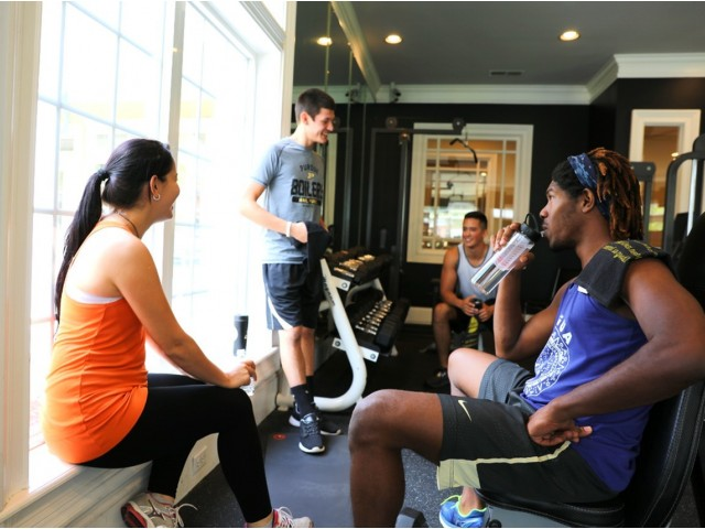 24-Hour Fitness Center | The Lodge on the Trail Apartments