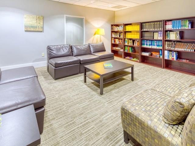 community library | 100 Midtown Apartments in Atlanta, GA