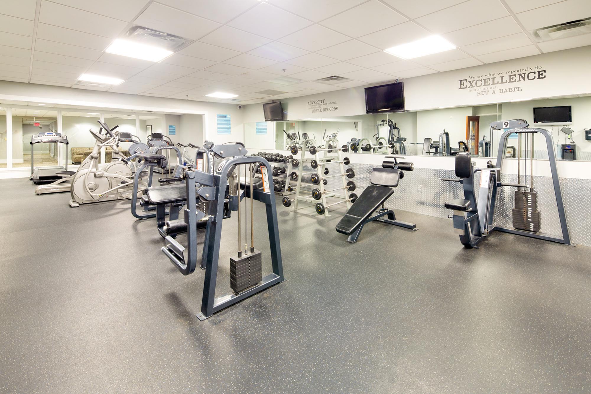 100 Midtown 24-hour fitness center | Apartments in Atlanta GA