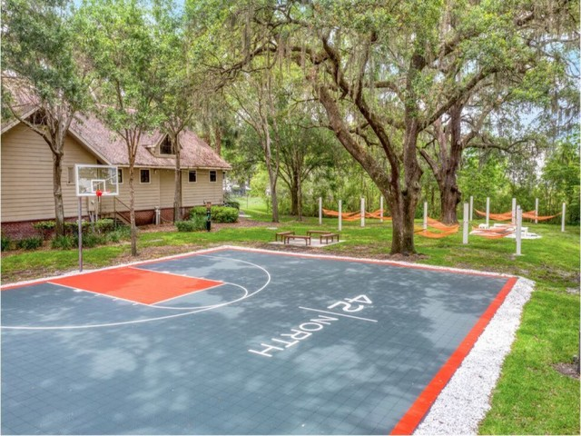 42 North Apartments Basketball Court