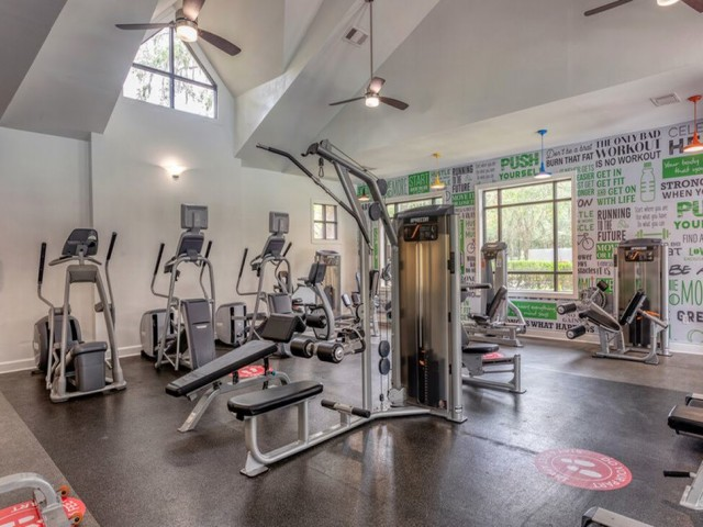 42 North Apartments Fitness Center