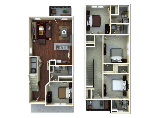 4 bedroom apartments tucson