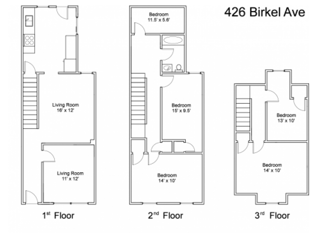 426 Birkel Avenue - Utilities include: Oil