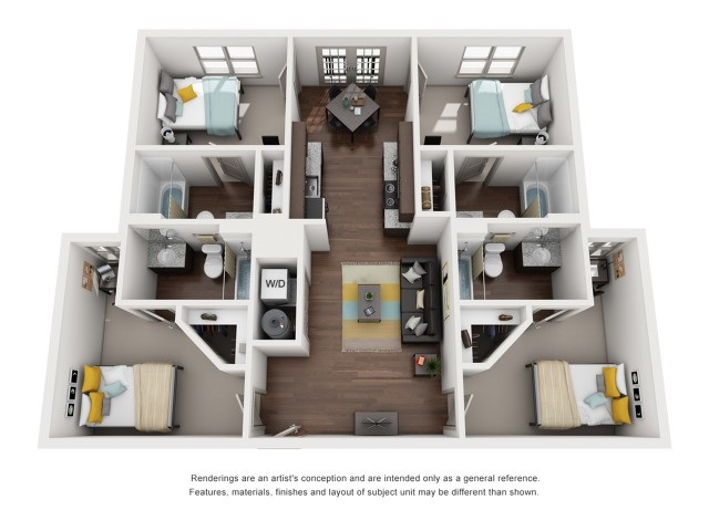 4 bedroom apartments tallahassee