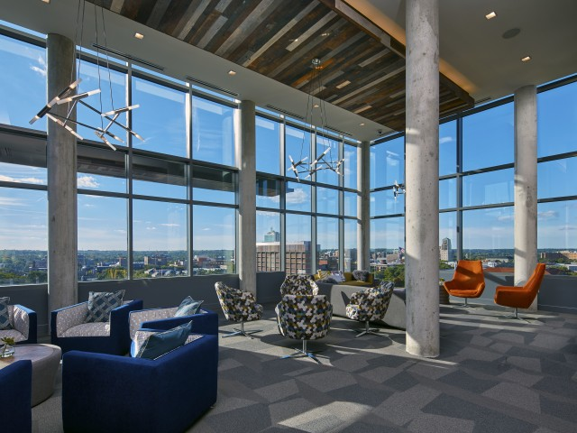 Image of Penthouse Lounge with Panoramic Views for Six11