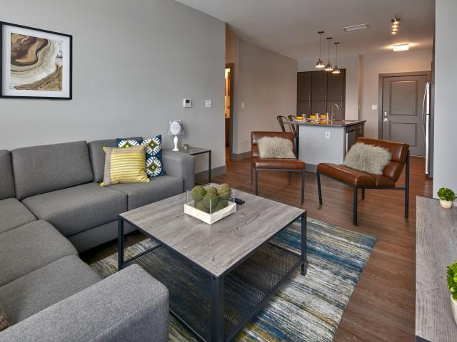 Image of Hardwood-Style Flooring for The Yard