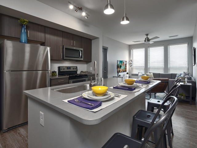 Image of Stainless Steel Kitchen Appliances for The Yard