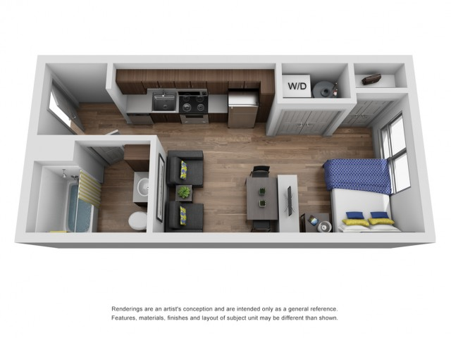 studio apartment in ann arbor