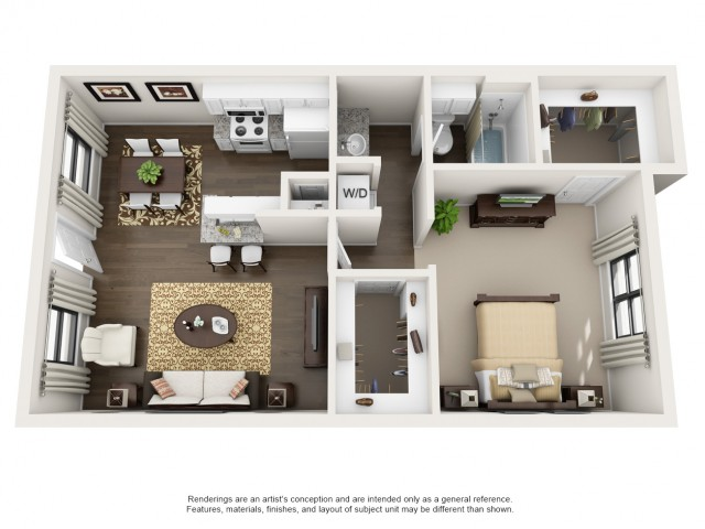 one bedroom apartment college station