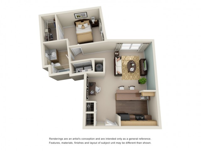 1 bedroom apartment atlanta ga