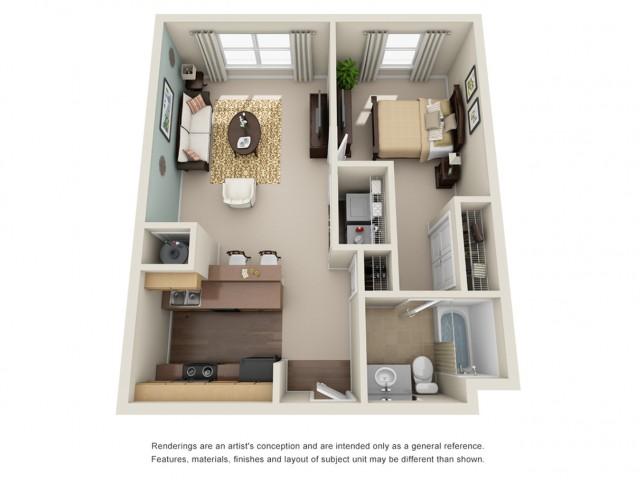 1 bedroom apartment atlanta briarcliff
