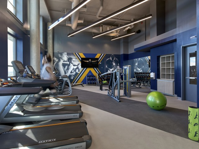 Image of 24-Hour Fitness Center with Brand New Treadmills for Six11