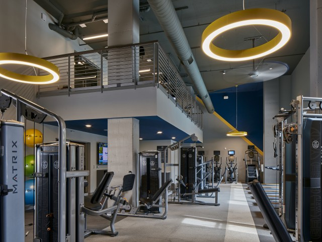Image of 24-Hour Fitness Center with Brand New Treadmills for The Yard