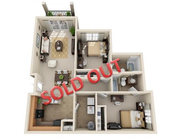 2 bedroom apartment in statesboro ga