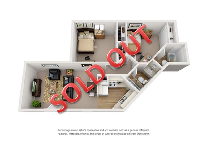 2 bedroom apartments in tucson az