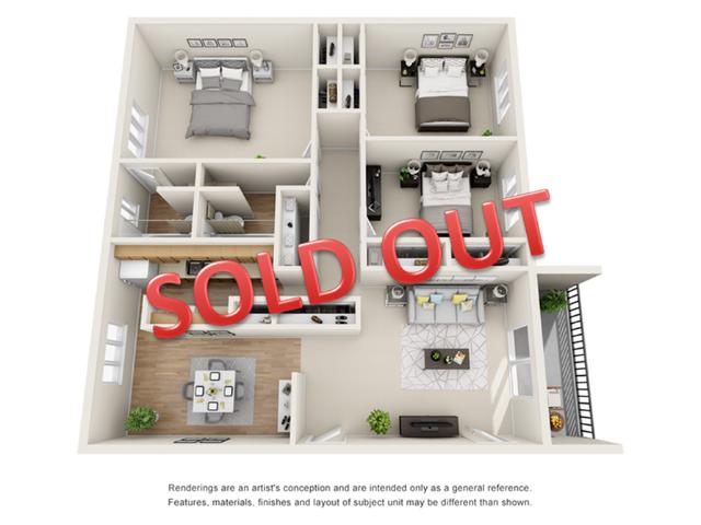 3 bedroom apartments in decatur ga