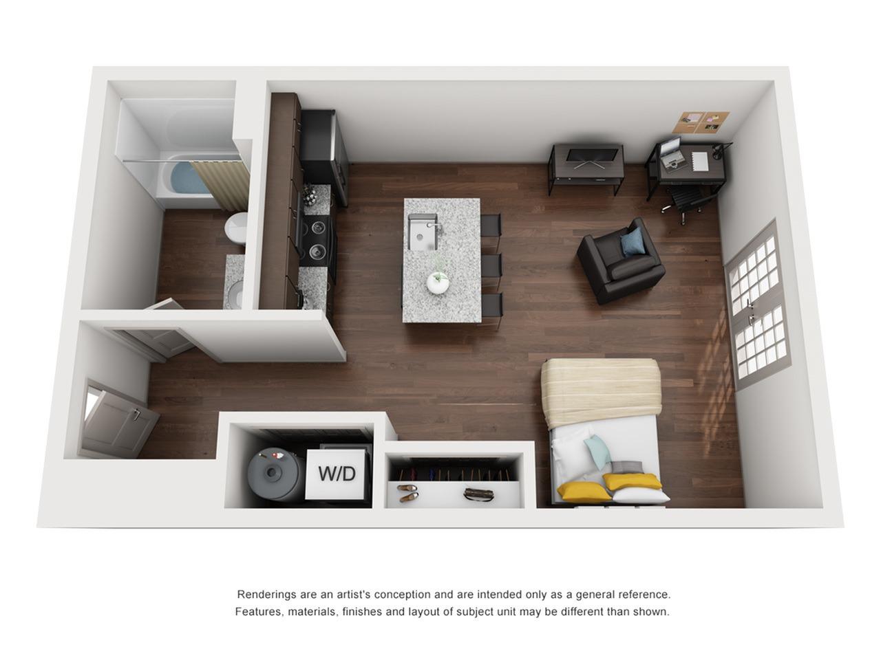 studio apartments tallahassee