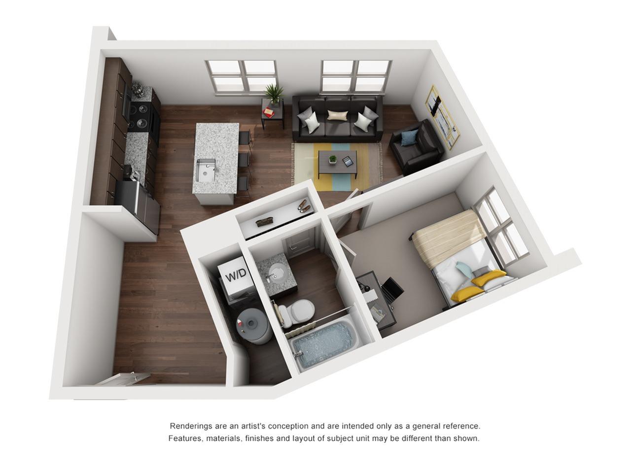 1 bedroom apartments near fsu