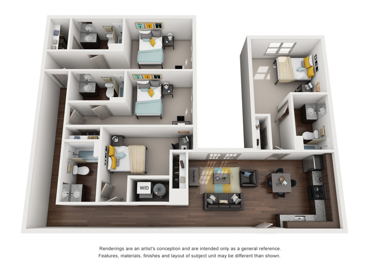 4 bedroom apartments in tallahassee