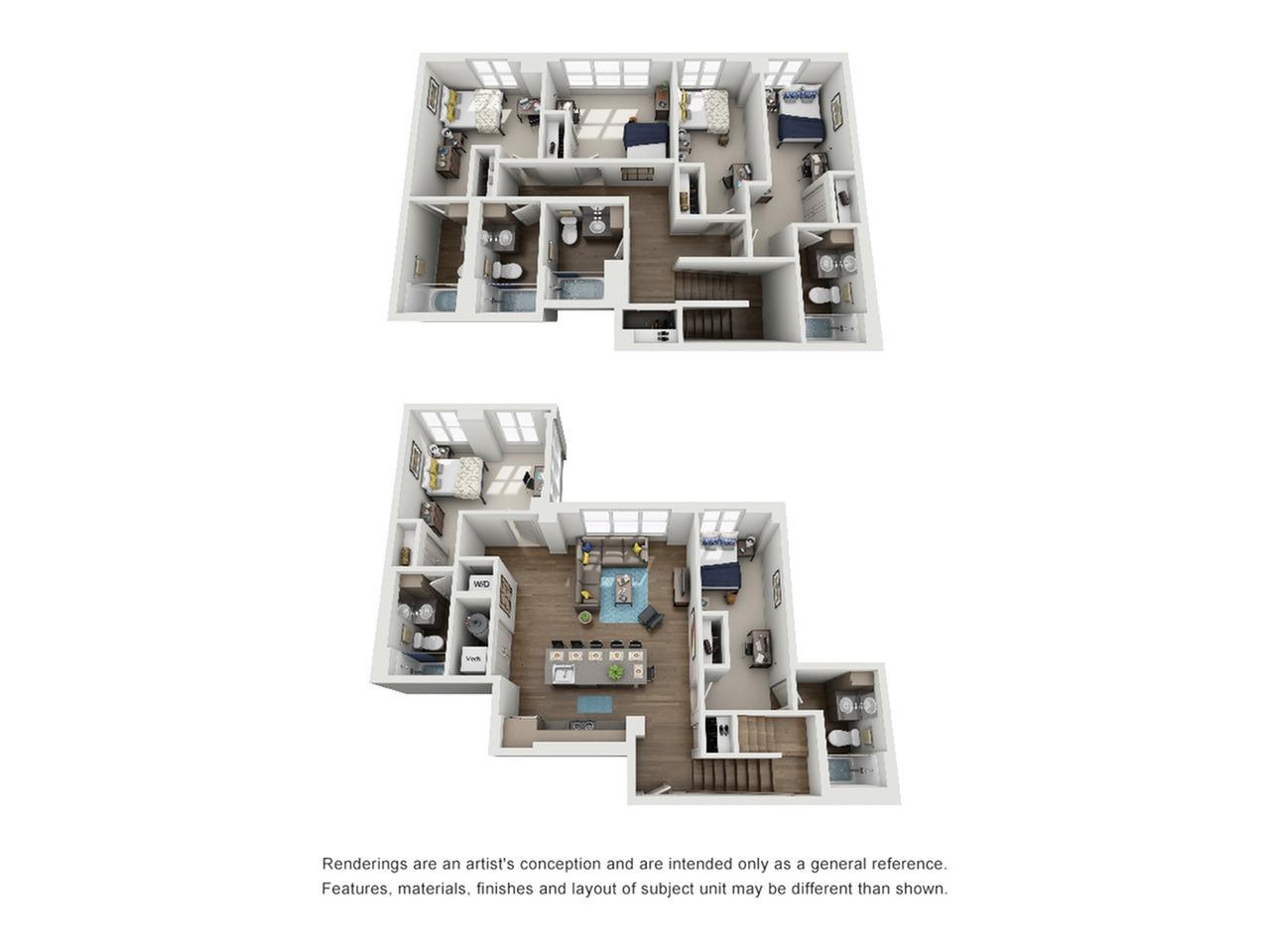 six bedroom apartment in ann arbor