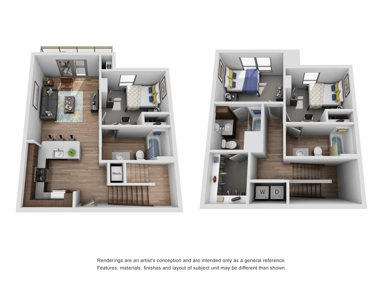 3 bedroom town house in ann arbor