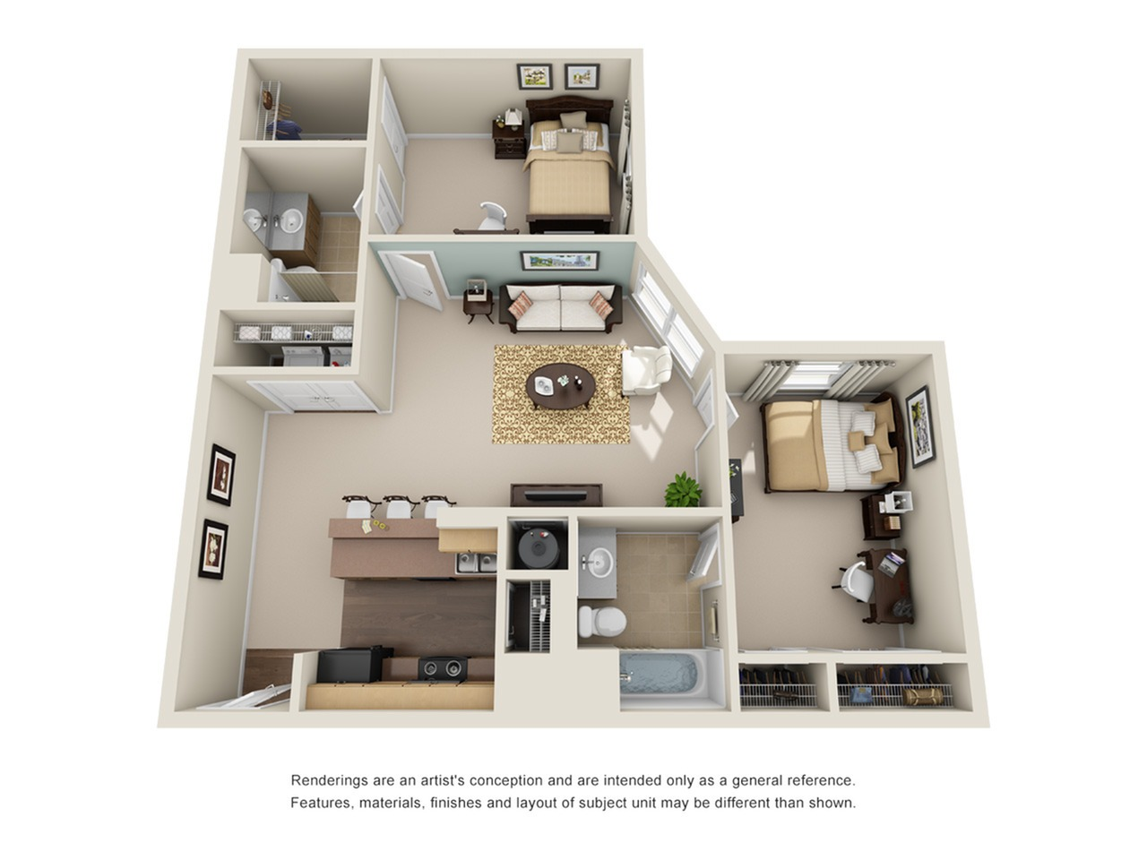 2 bedroom apartment atlanta ga