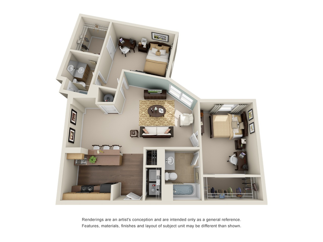 two bedroom apartment atlanta ga