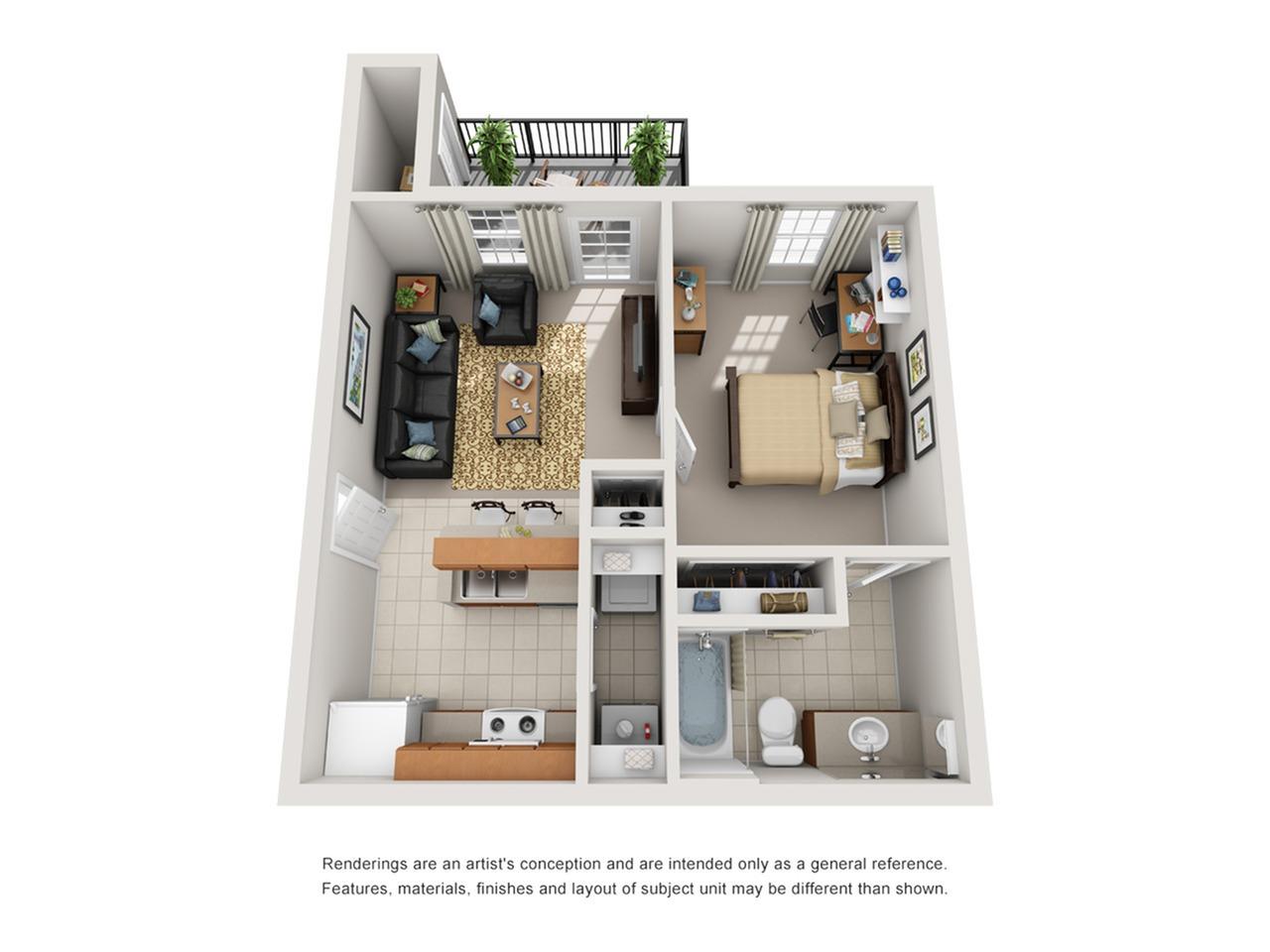 one bedroom apartments tucson az