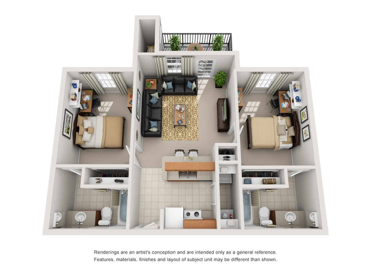 2 bedroom apartments in tucson