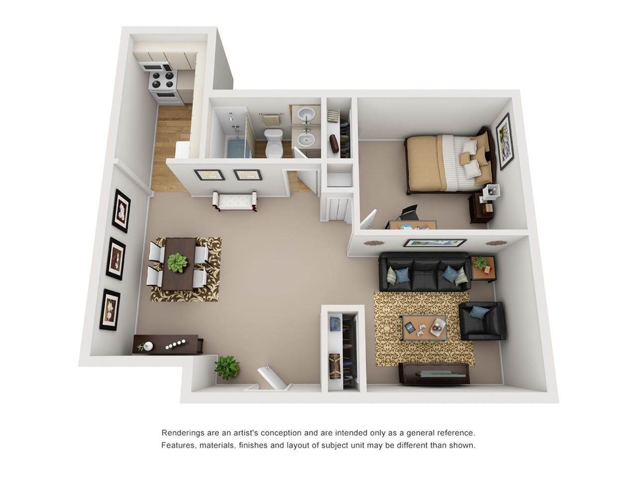 One bedroom apartments tucson