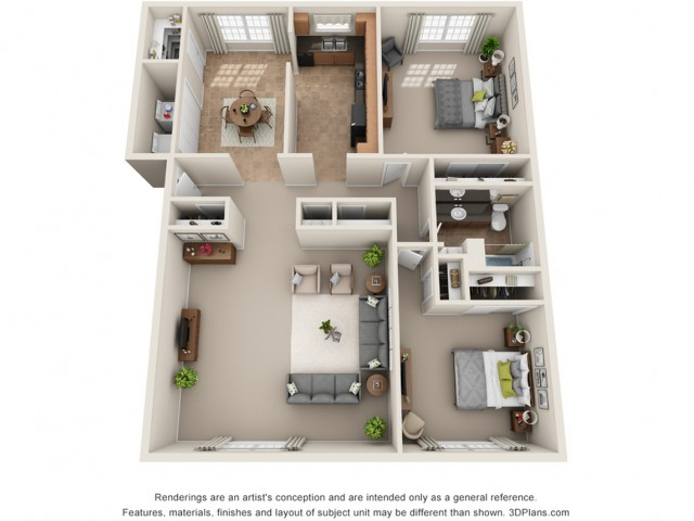 Floor Plan | Park Central North
