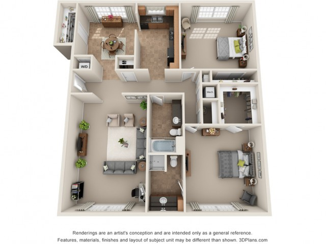 Floor Plan 1 | Park Central North