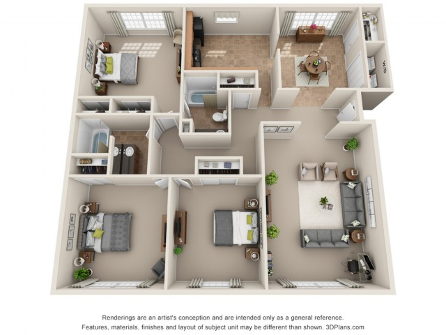 Floor Plan 2 | Park Central North
