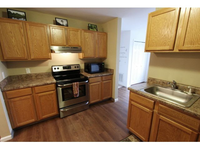 Image of Newly renovated kitchens available for Long Pond Village Apartments