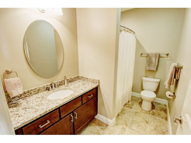 Image of Tiled floors in bathrooms for Mill Hollow Apartments