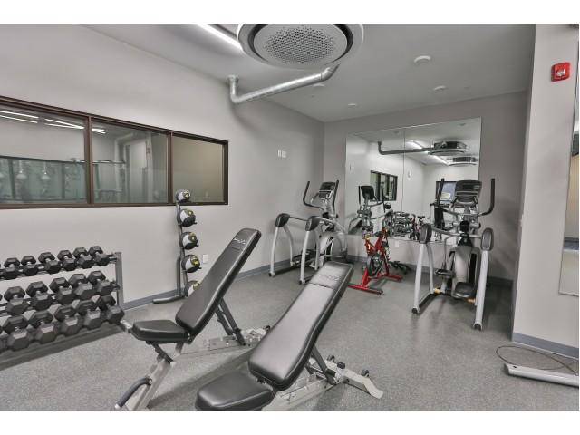 Image of Modern fitness center for At Hudson Park