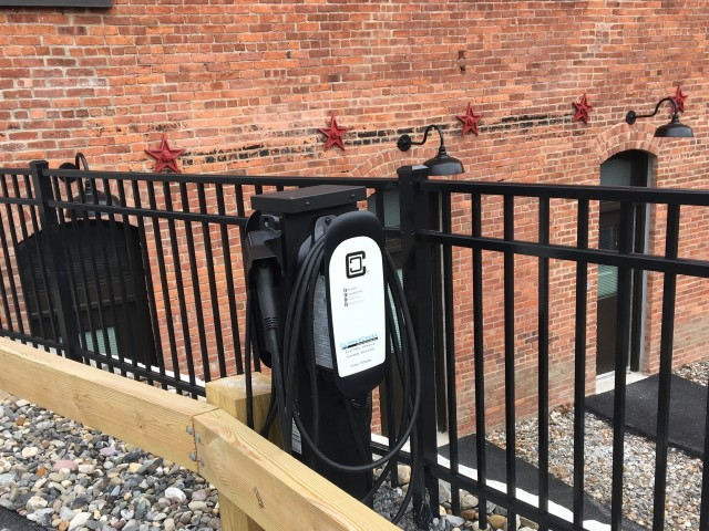 Image of Electric car charging station for At Hudson Park