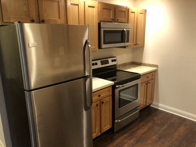 Image of Stainless Steel Appliances for Homeroom Lofts