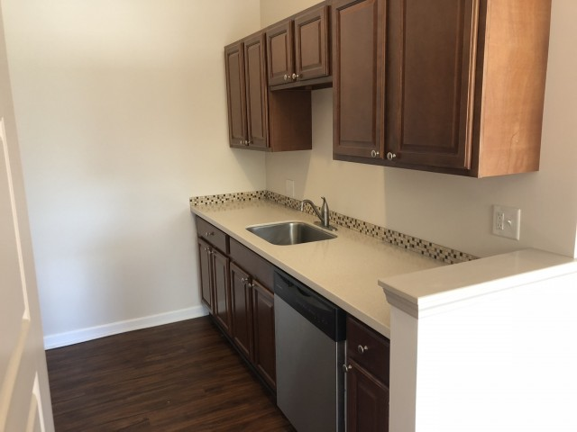 Image of Natural stone countertops for Homeroom Lofts