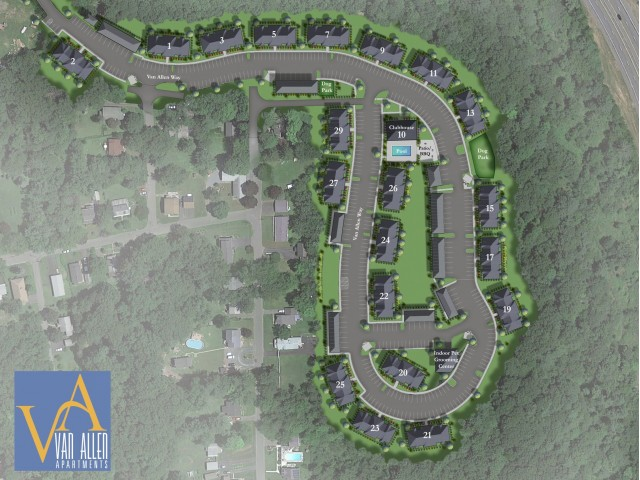Image of Dog parks for Van Allen Apartments